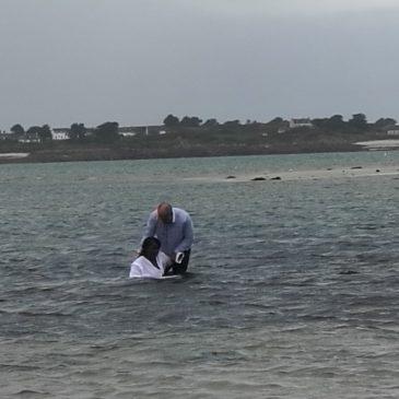Dimanche 28 octobre un nouveau baptême dans notre assemblée